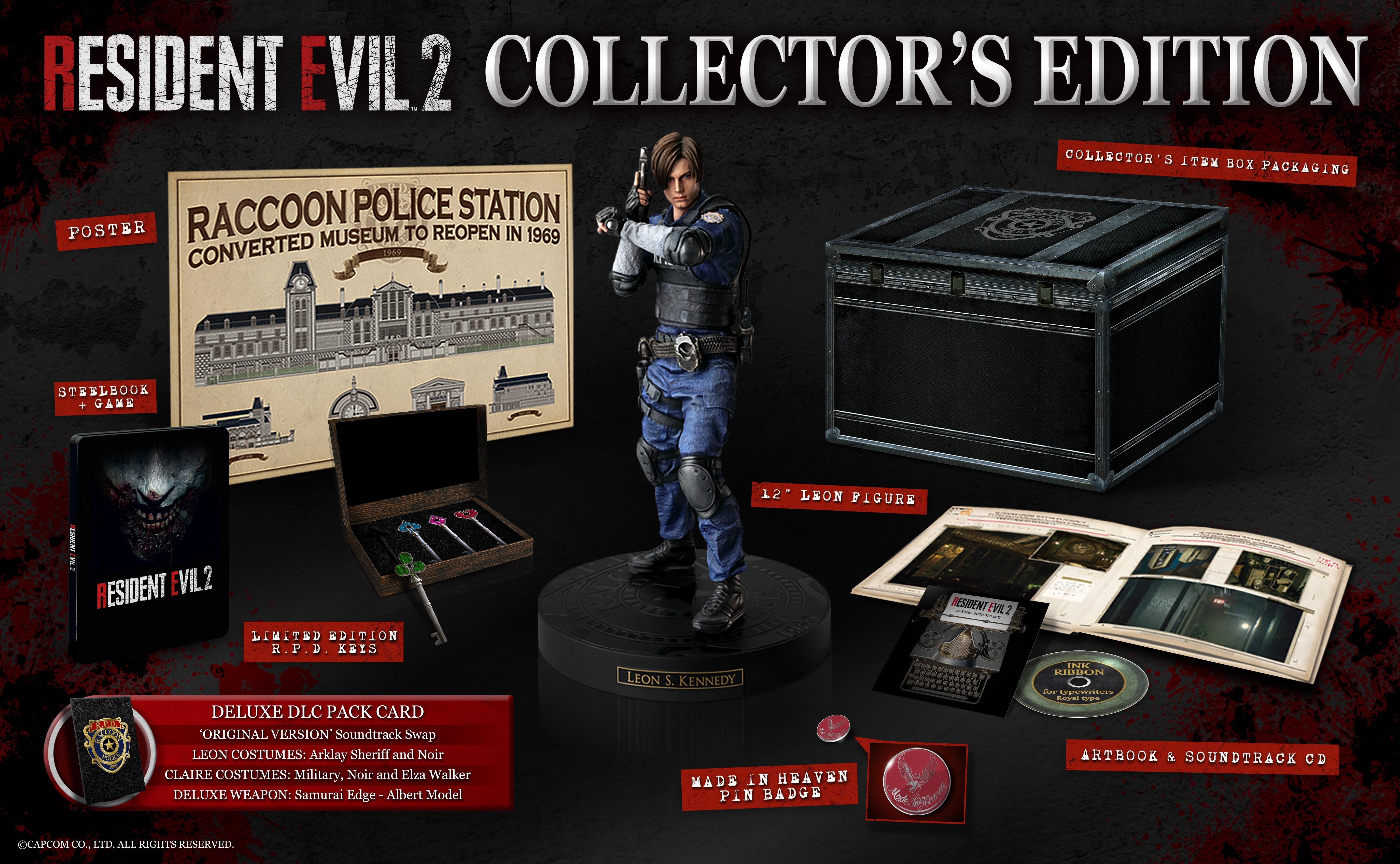 Resident Evil 2 Special Edition Packshot